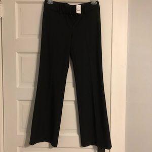 LOFT NWT Black Marisa Career Trouser - Sz 6